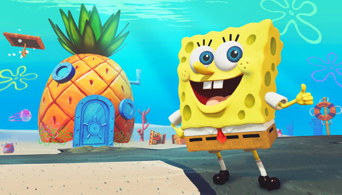к игре SpongeBob SquarePants: Battle for Bikini Bottom - Rehydrated