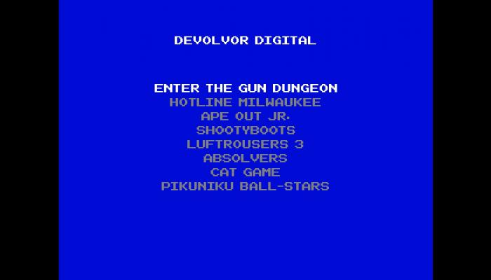 к игре Devolver Bootleg
