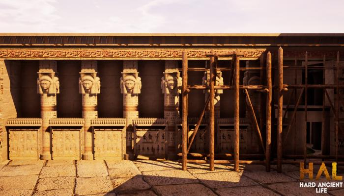 к игре Builders of Egypt