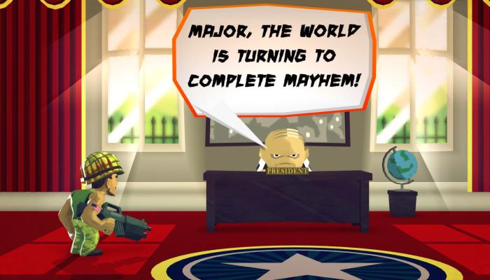 к игре Major Mayhem