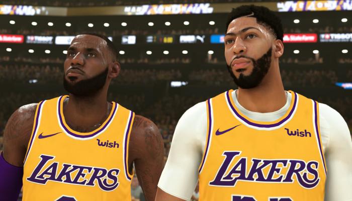 к игре NBA 2K20