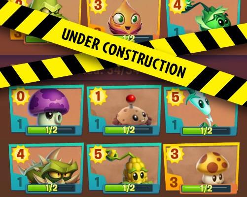 к игре Plants vs. Zombies 3