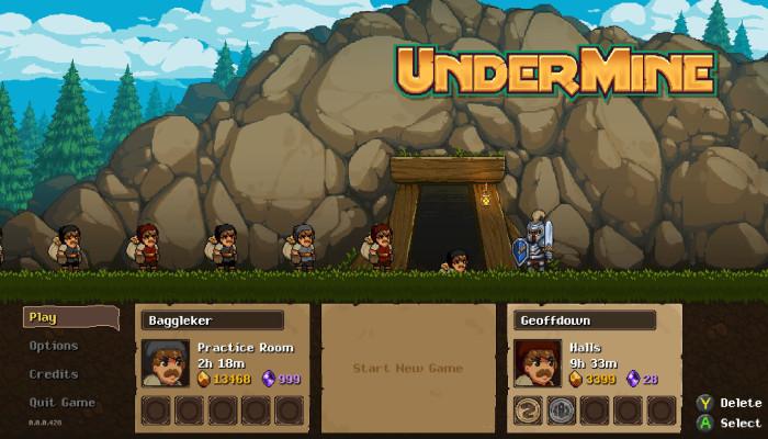 к игре UnderMine