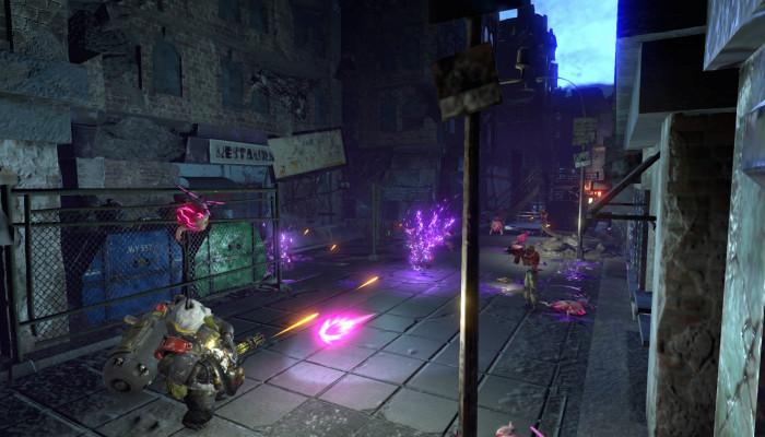 к игре Contra: Rogue Corps