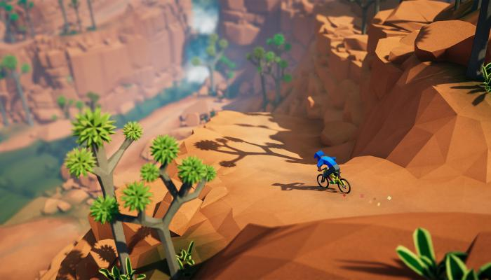 к игре Lonely Mountains: Downhill