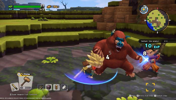 к игре Dragon Quest Builders 2