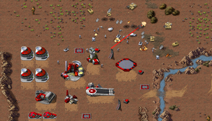 к игре Command & Conquer Remastered Collection