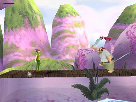 к игре Disney's Peter Pan Adventures in Never Land
