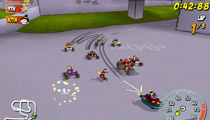 к игре Beanotown Racing