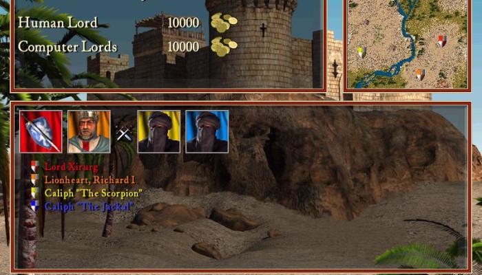 к игре Stronghold: Crusader