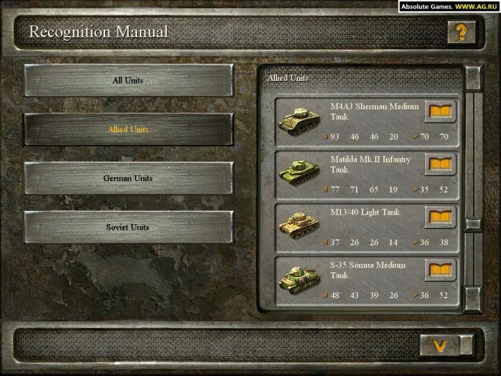Blitzkrieg: Все для игры Блицкриг, коды, читы, прохождения / блицкриг 1