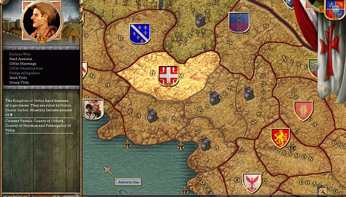 к игре Crusader Kings