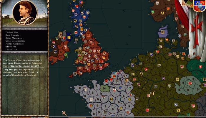 к игре Crusader Kings