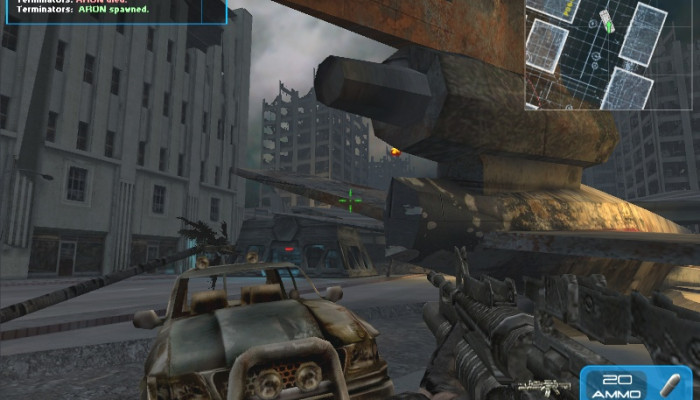 к игре Terminator 3: War of the Machines