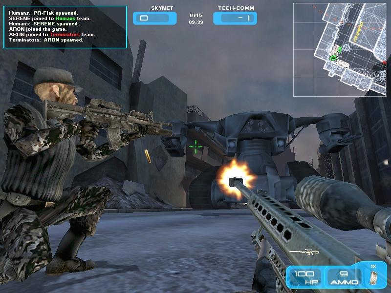 Игру Терминатор 3: Война Машин