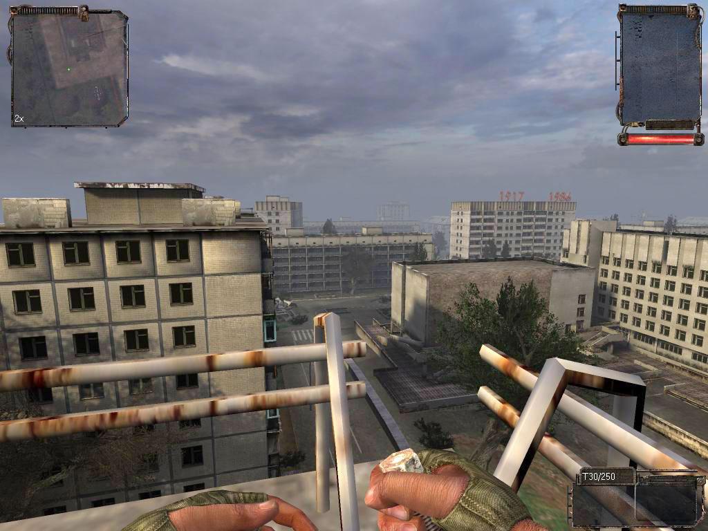 Stalker shadow of chernobyl / Сталкер тень чернобыля скачать бесплатно