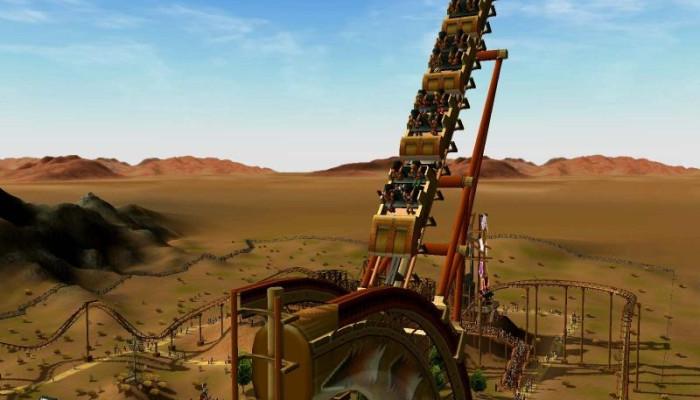 к игре RollerCoaster Tycoon 3