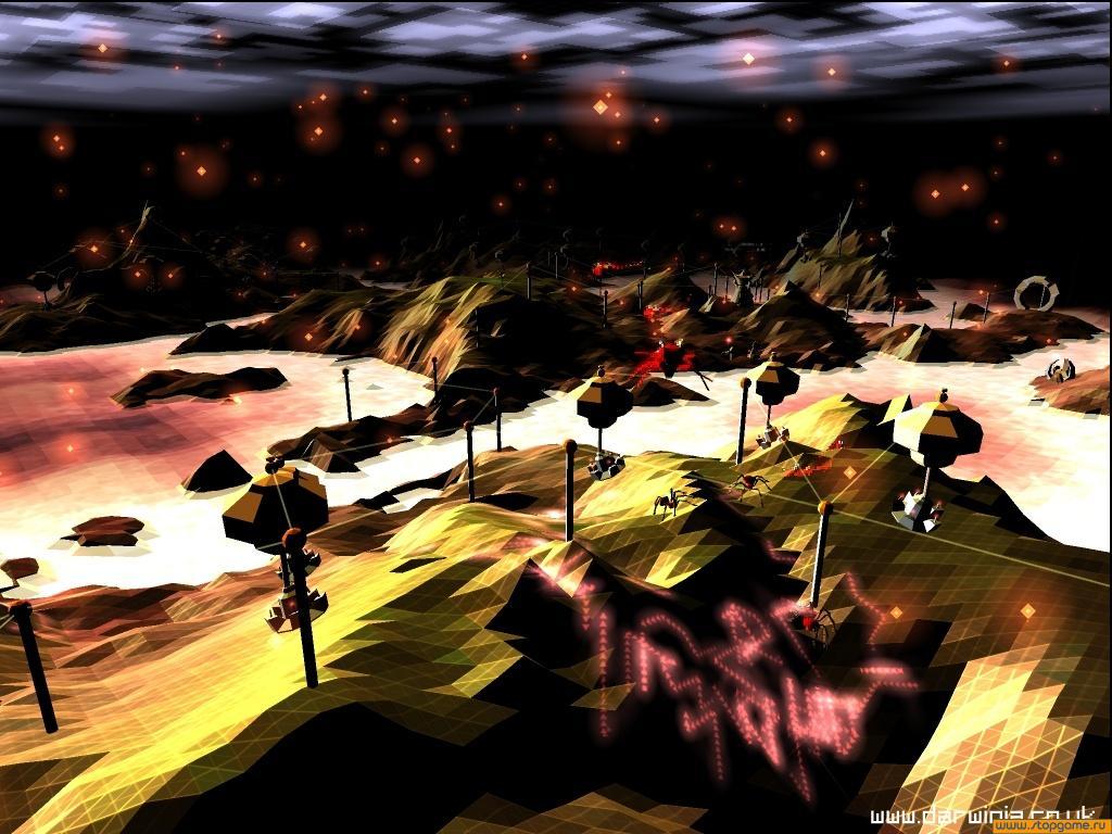 Виртуальный мир Дарвинии созданный внутри компьютера гением доктора