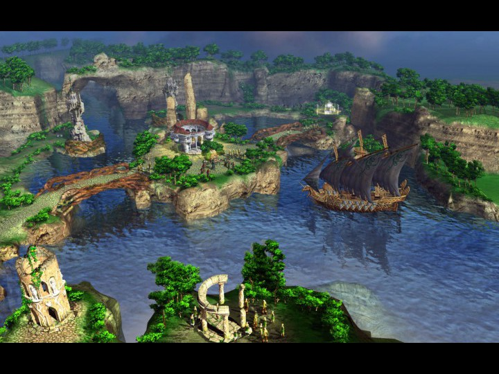 Скриншоты из игры Герои уничтоженных империй.