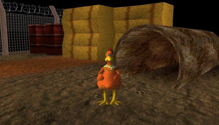 к игре Chicken Run