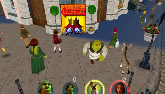 к игре Shrek 2: Team Action