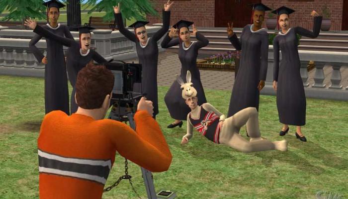 к игре Sims 2: University, The