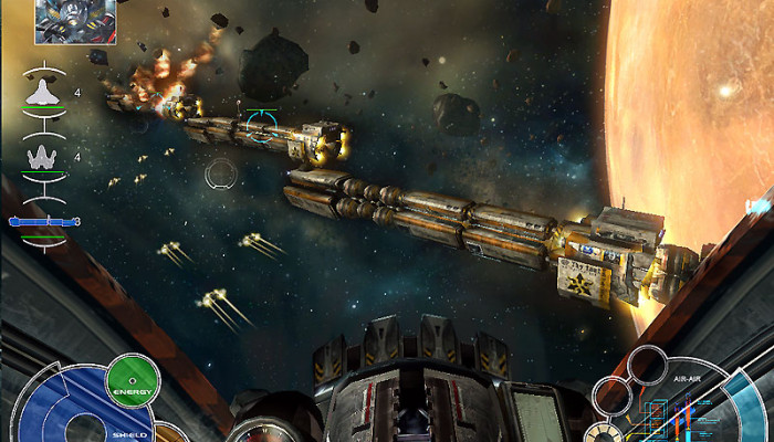 к игре Space Interceptor: Project Freedom