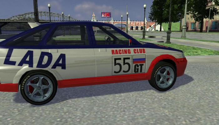 Как сделать lada racing club