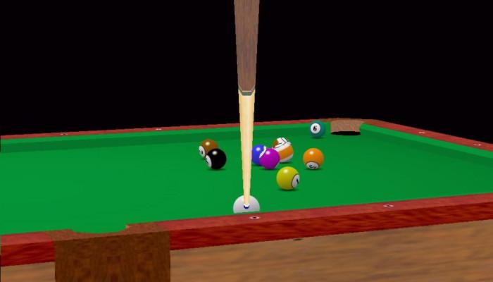 к игре Virtual Pool Hall