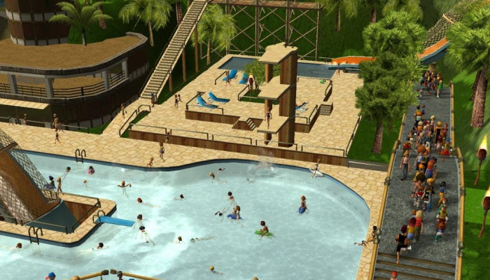 к игре RollerCoaster Tycoon 3: Soaked!