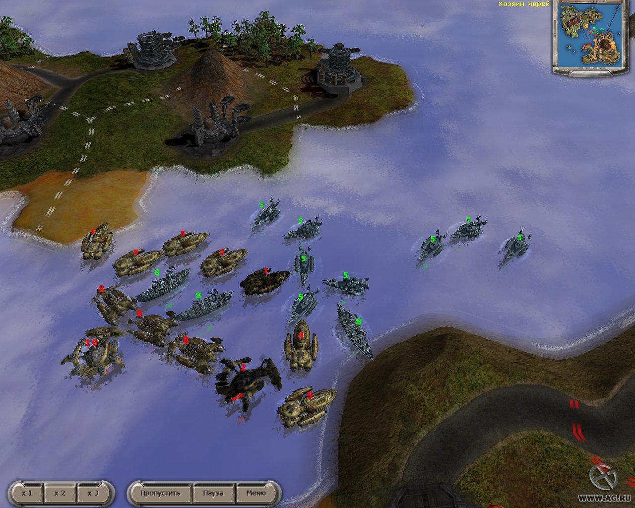 Скриншоты для игры Massive Assault Расцвет Лиги.