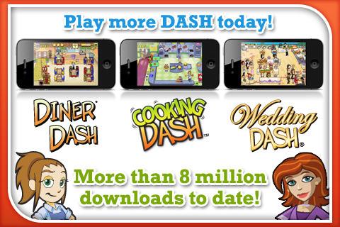к игре Diner Dash