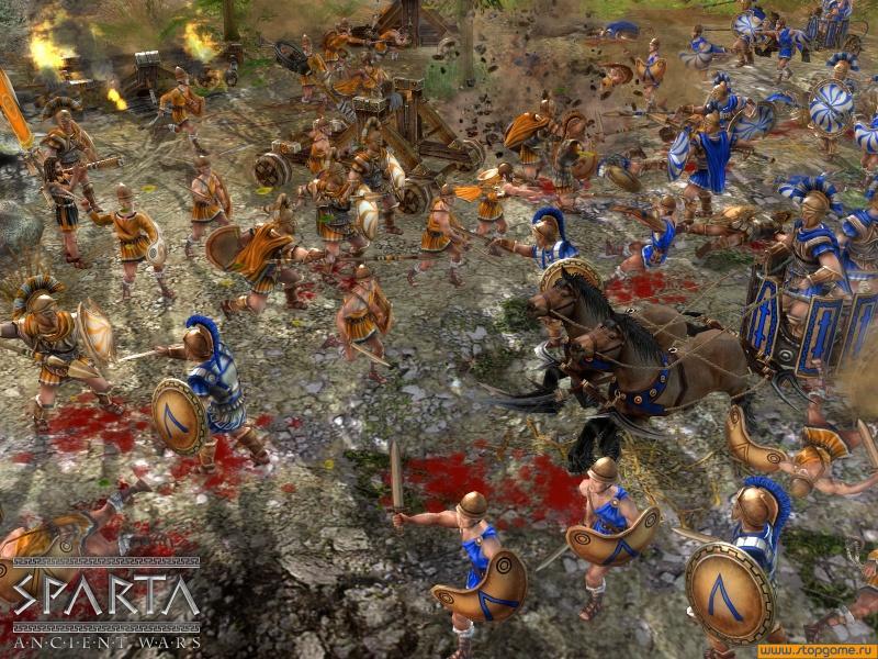 Войны древности: спарта (ancient wars: sparta) дата выхода.