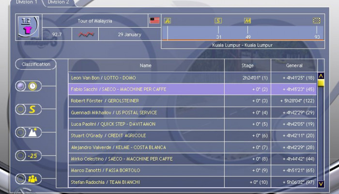 к игре Cycling Manager 3