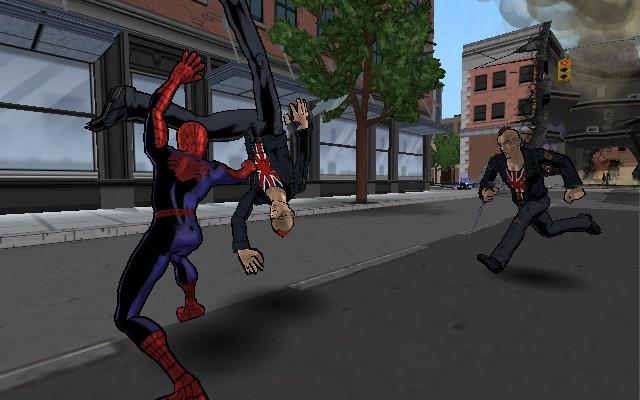 к игре Ultimate Spider-Man