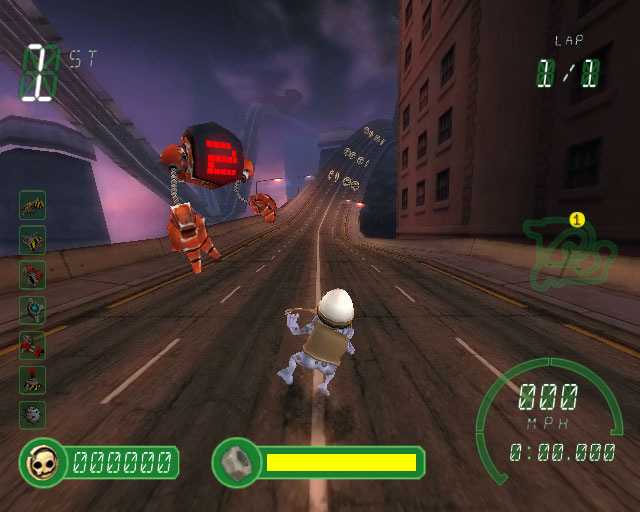 Игра Crazy Frog Racer