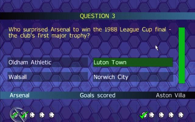 к игре Championship Manager Quiz