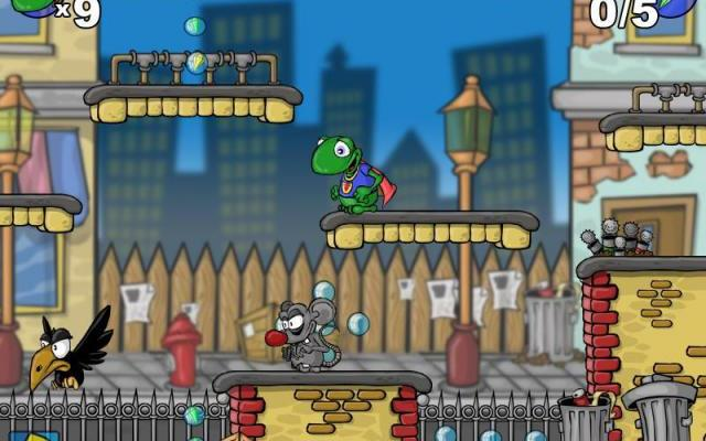 к игре FrogMan