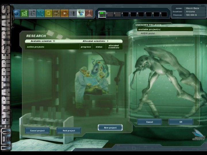 UFO: Extraterrestrials - скриншоты из игры (скрины, screenshots)