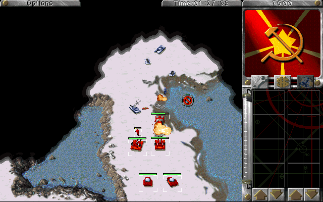 к игре Command & Conquer: Red Alert - The Aftermath