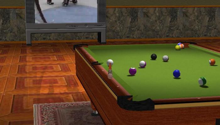 к игре Live Billiards
