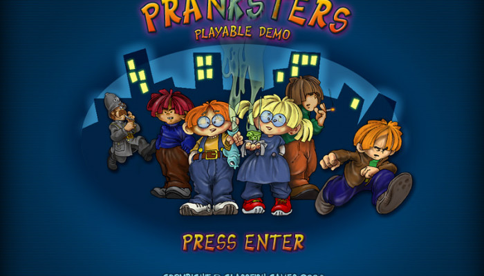 к игре Pranksters: The Treasure of the Indians