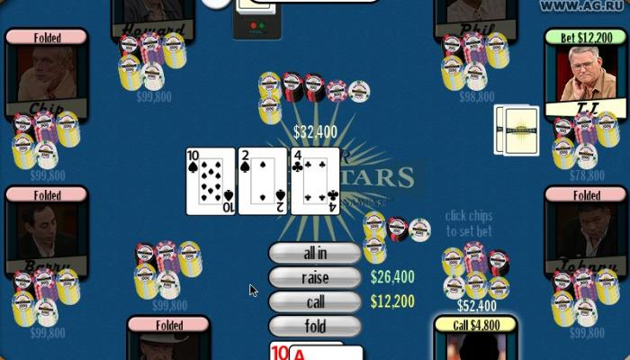к игре Poker Superstars Invitational Tournament