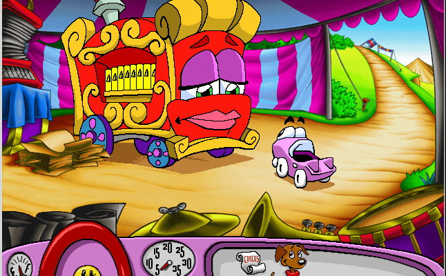 к игре Putt-Putt Joins the Circus