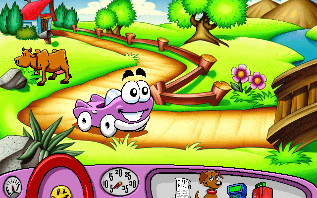 к игре Putt-Putt Travels Through Time