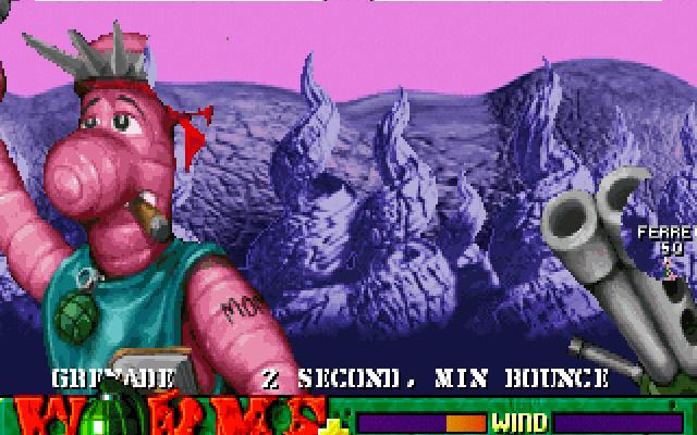 к игре Worms Plus: Reinforcements