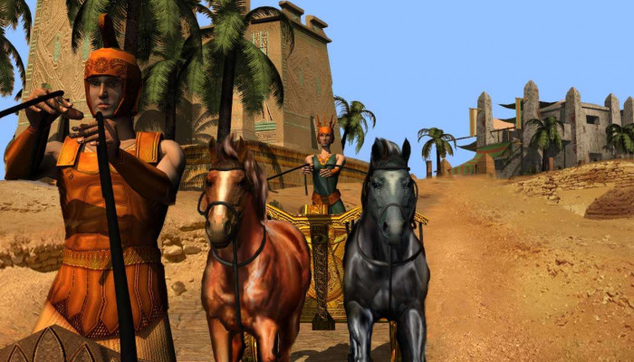 к игре Chariots: The First Olympics