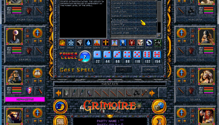 к игре Grimoire: Heralds of the Winged Exemplar