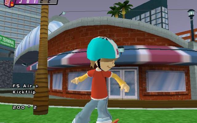 к игре Backyard Skateboarding