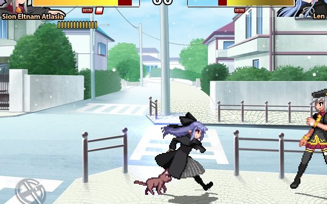 к игре Melty Blood: ReAct